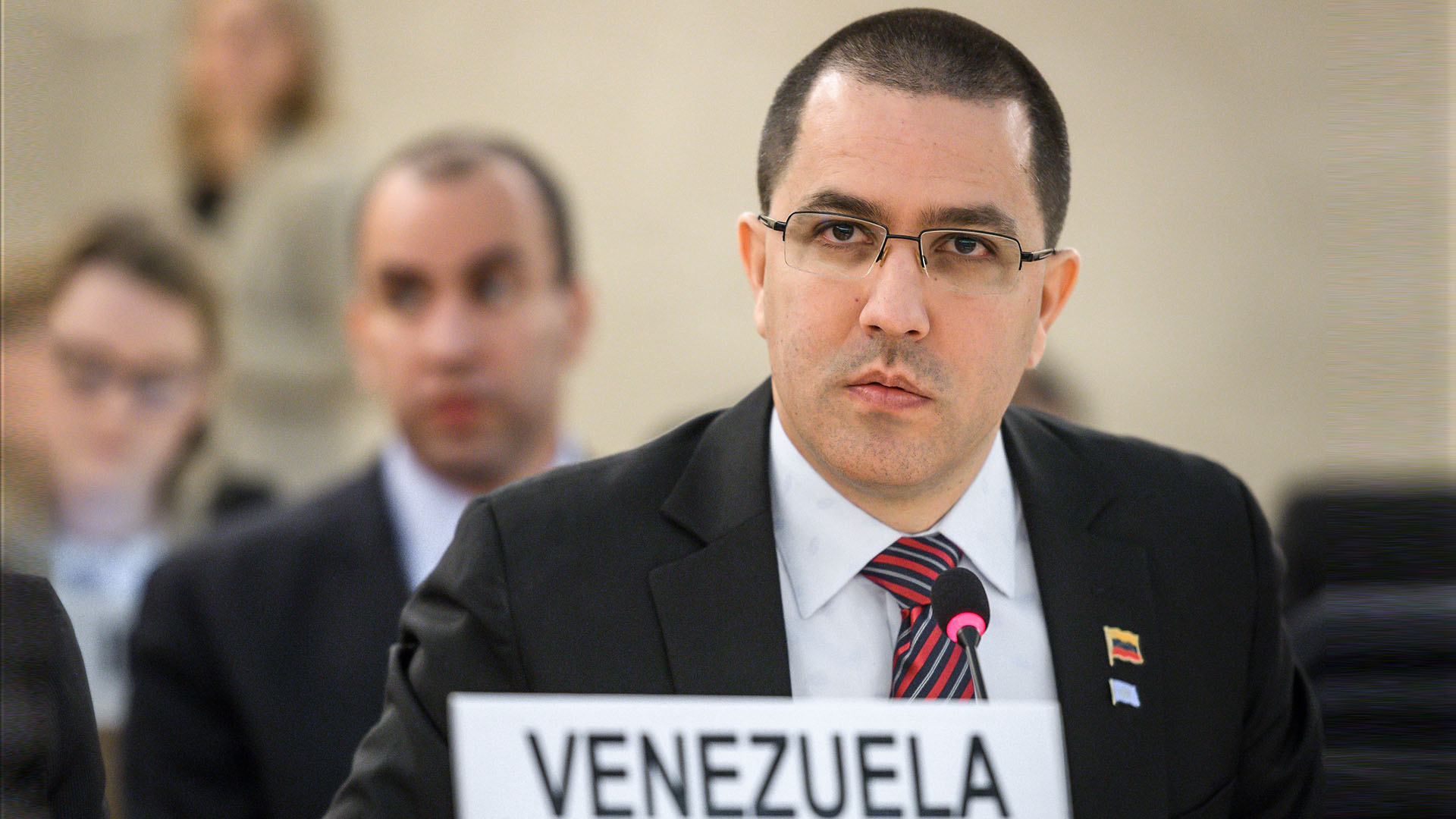 """Arreaza sobre la OEA: """"Todo un disco rayado del fracaso. ¡Dan vergüenza!"""""""
