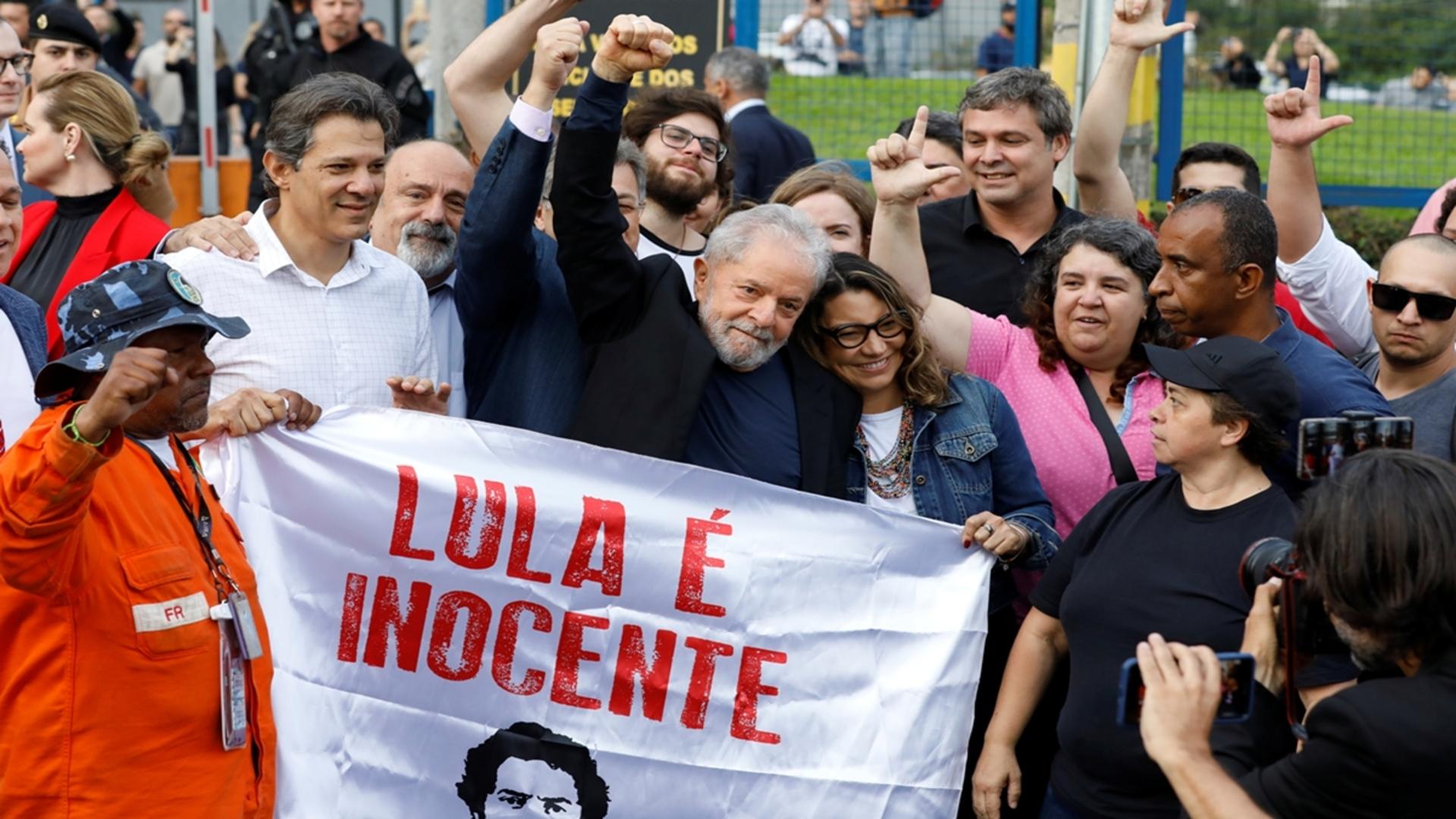 Lula invita a sus seguidores al Festival Lula Libre