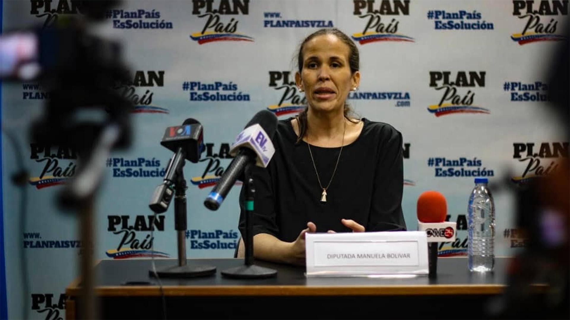 Diputada Manuela Bolívar asegura que en el Plan País se plantea la reactivación del PAE