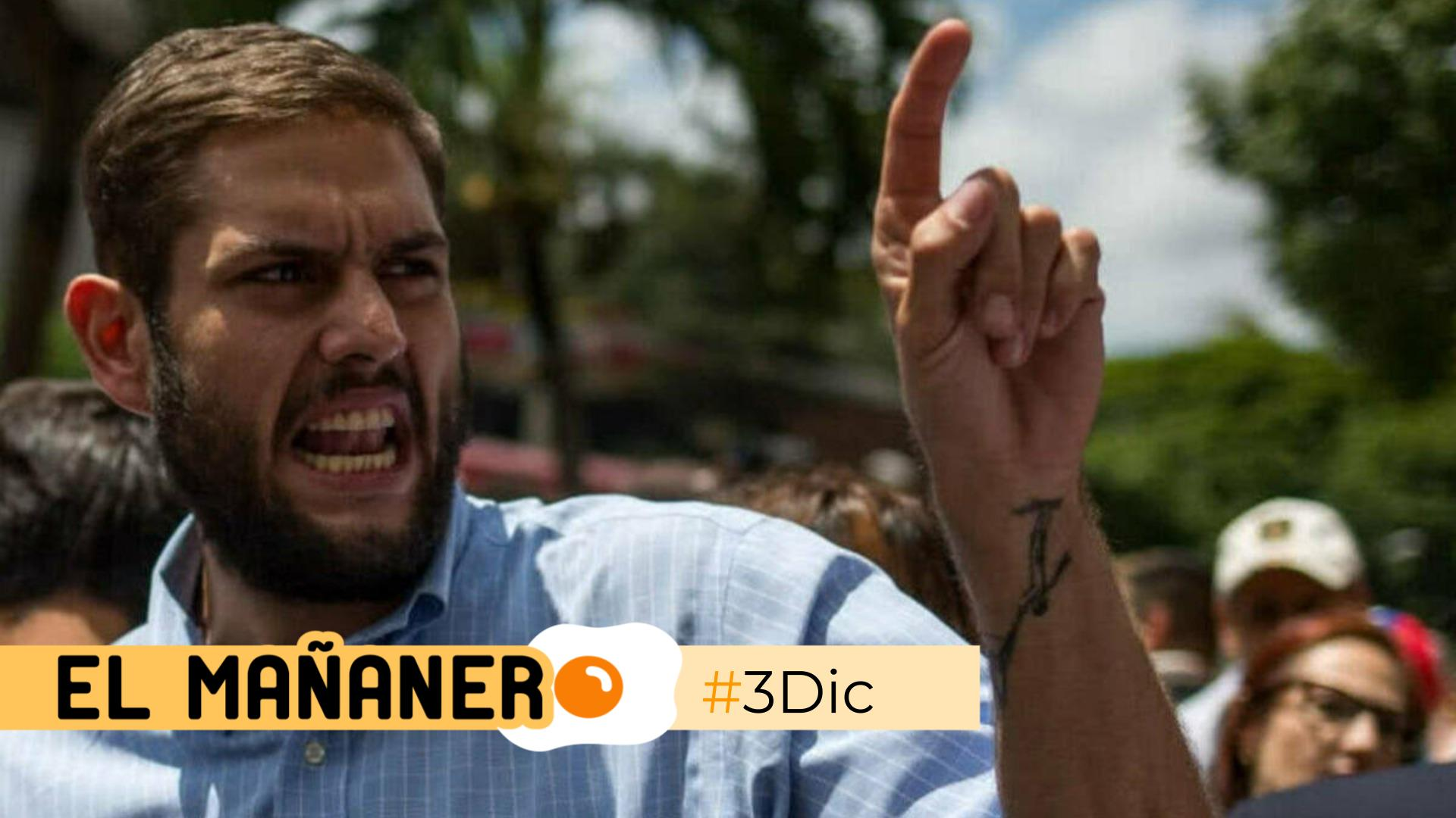 El Mañanero de hoy #3Dic: Las 8 noticias que debes saber