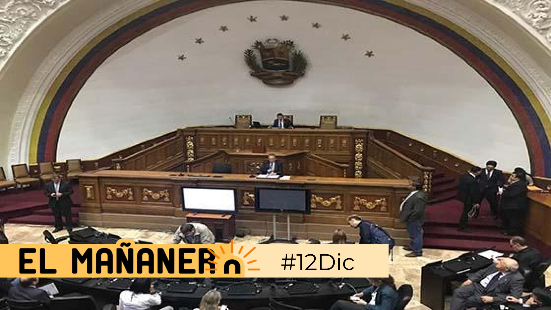 El Mañanero de hoy #12Dic: Las 8 noticias que debes saber