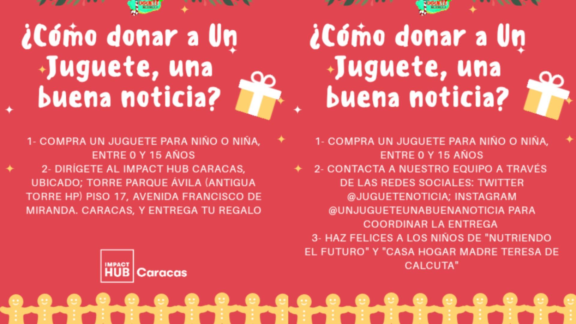 """""""Un juguete, una buena noticia"""", la iniciativa para que los niños tengan una """"Feliz Navidad"""""""