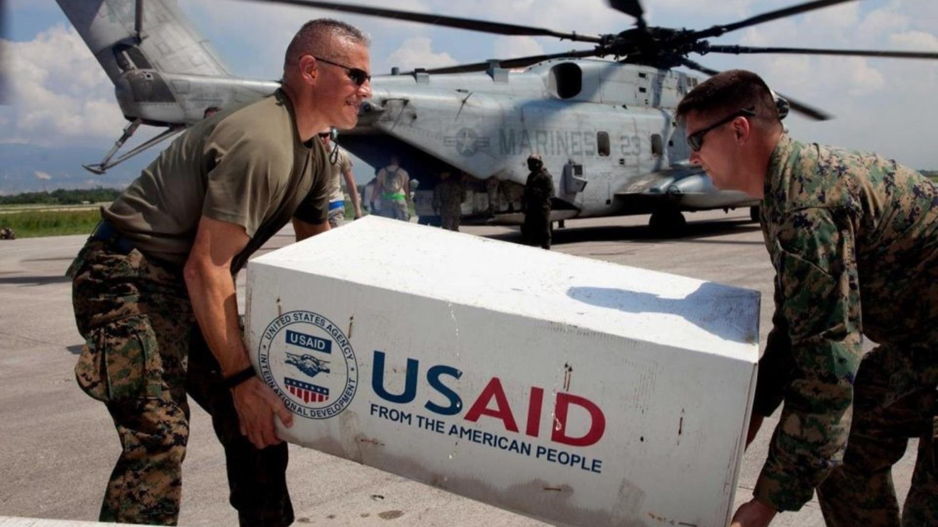 Usaid aclara que administración de Guaidó no recibe fondos de la ayuda humanitaria