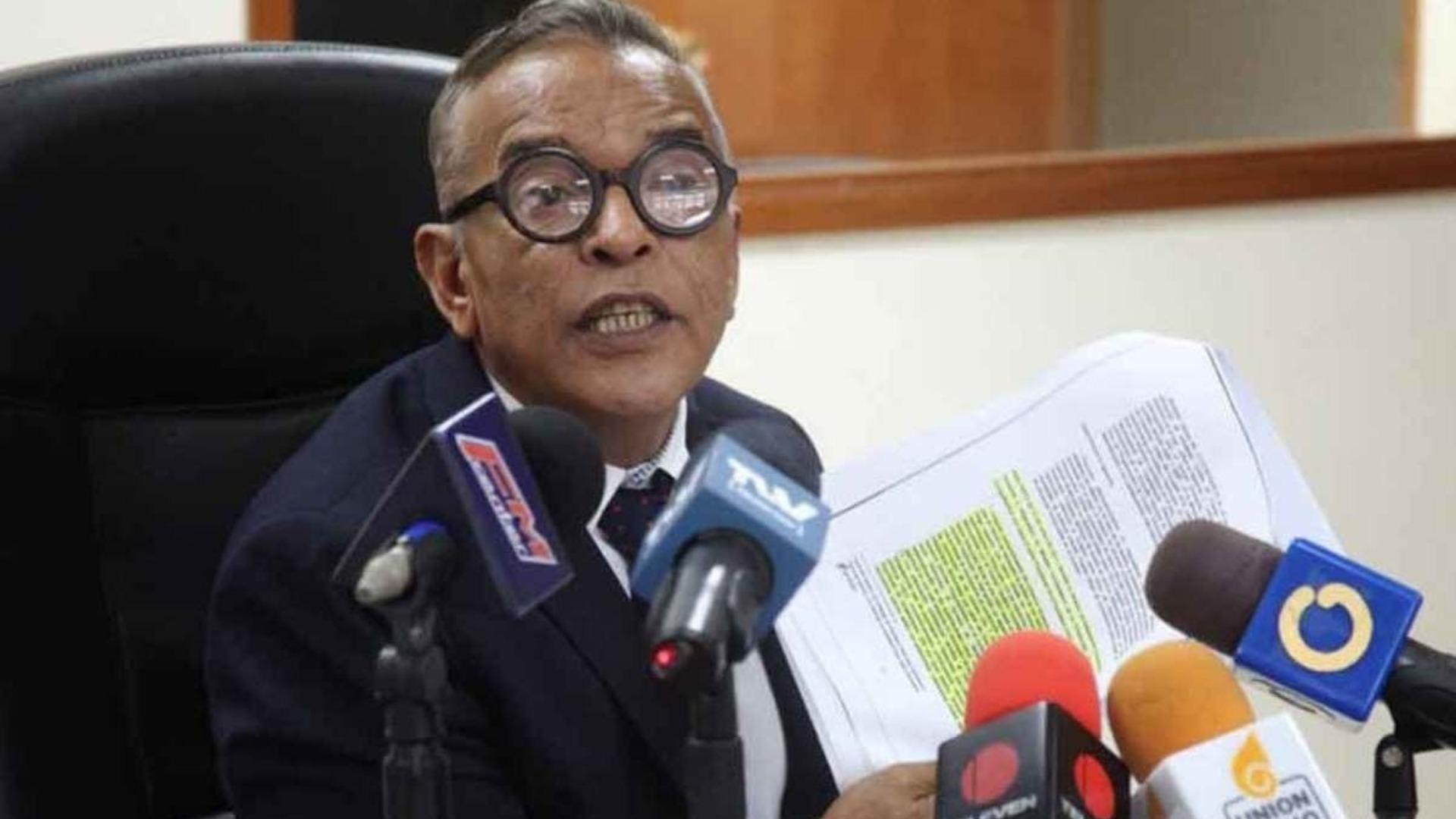William Barrientos desmiente su participación en supuesta trama de corrupción