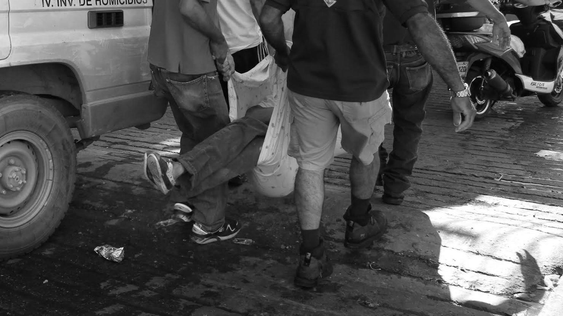 #MonitorDeVíctimas | Cuatro hombres fueron asesinados en el barrio José Félix Ribas
