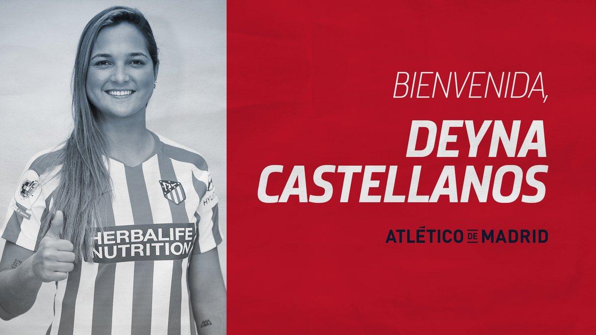 Deyna Castellanos se une al Atlético del Madrid
