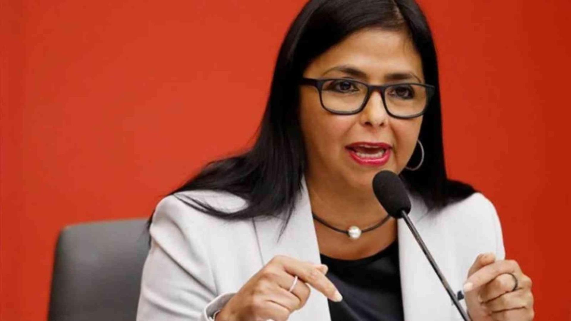 Delcy Rodríguez reitera que no reconoce jurisdicción de CIJ en el caso del Esequibo