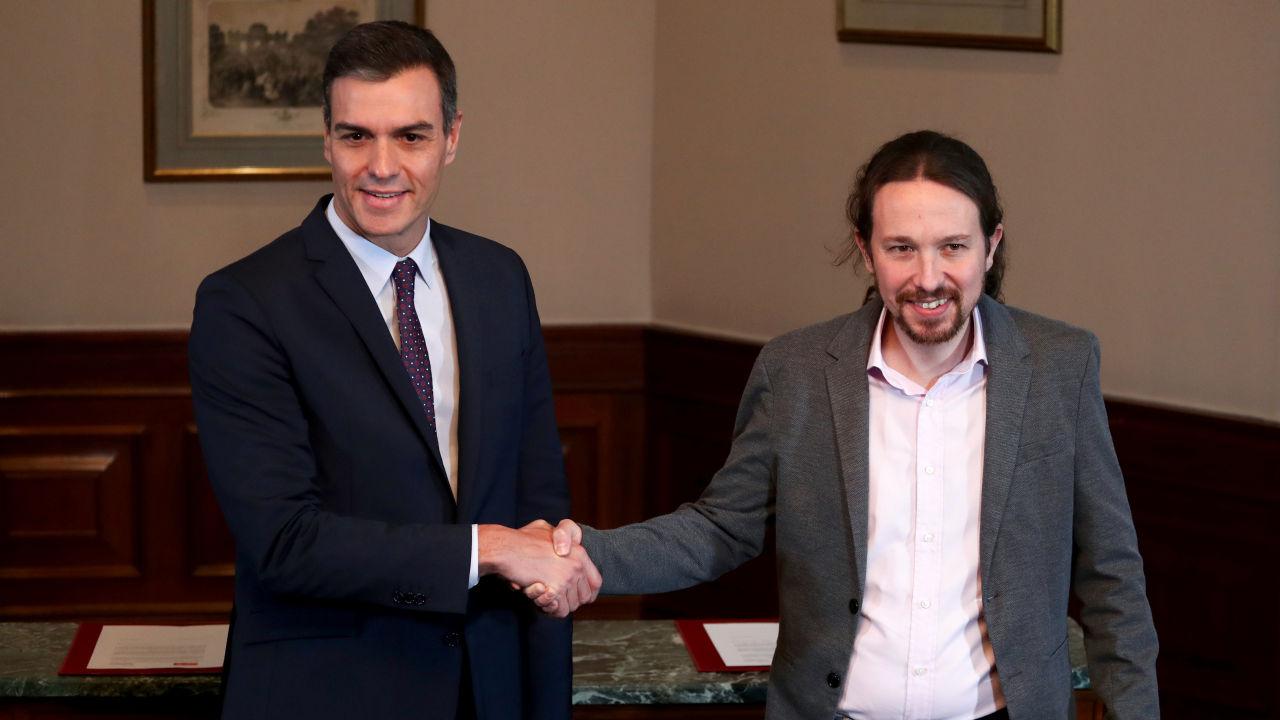 Confirman a Pablo Iglesias como uno de los vicepresidentes del futuro gobierno español