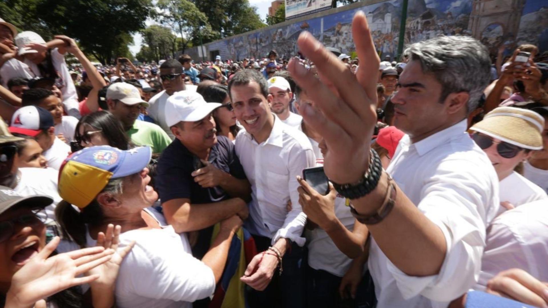 Guaidó pide a la Divina Pastora que guíe a Venezuela hacia la libertad