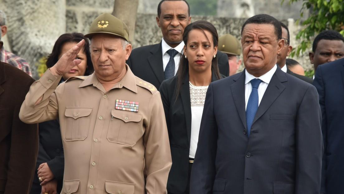 EEUU sanciona a ministro de las Fuerzas Armadas de Cuba por violar DDHH en Venezuela