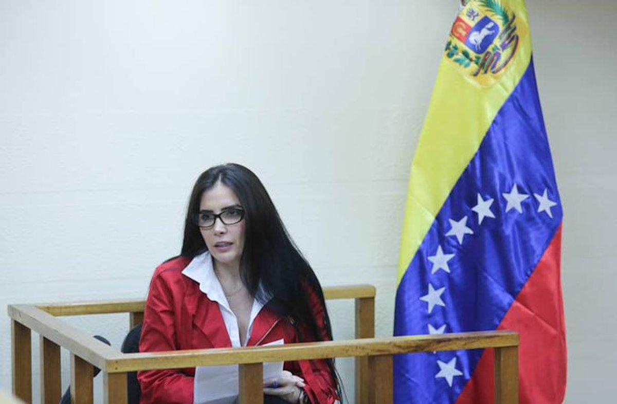 Audiencia de Aída Merlano, exsenadora colombiana, se convirtió en rueda de prensa