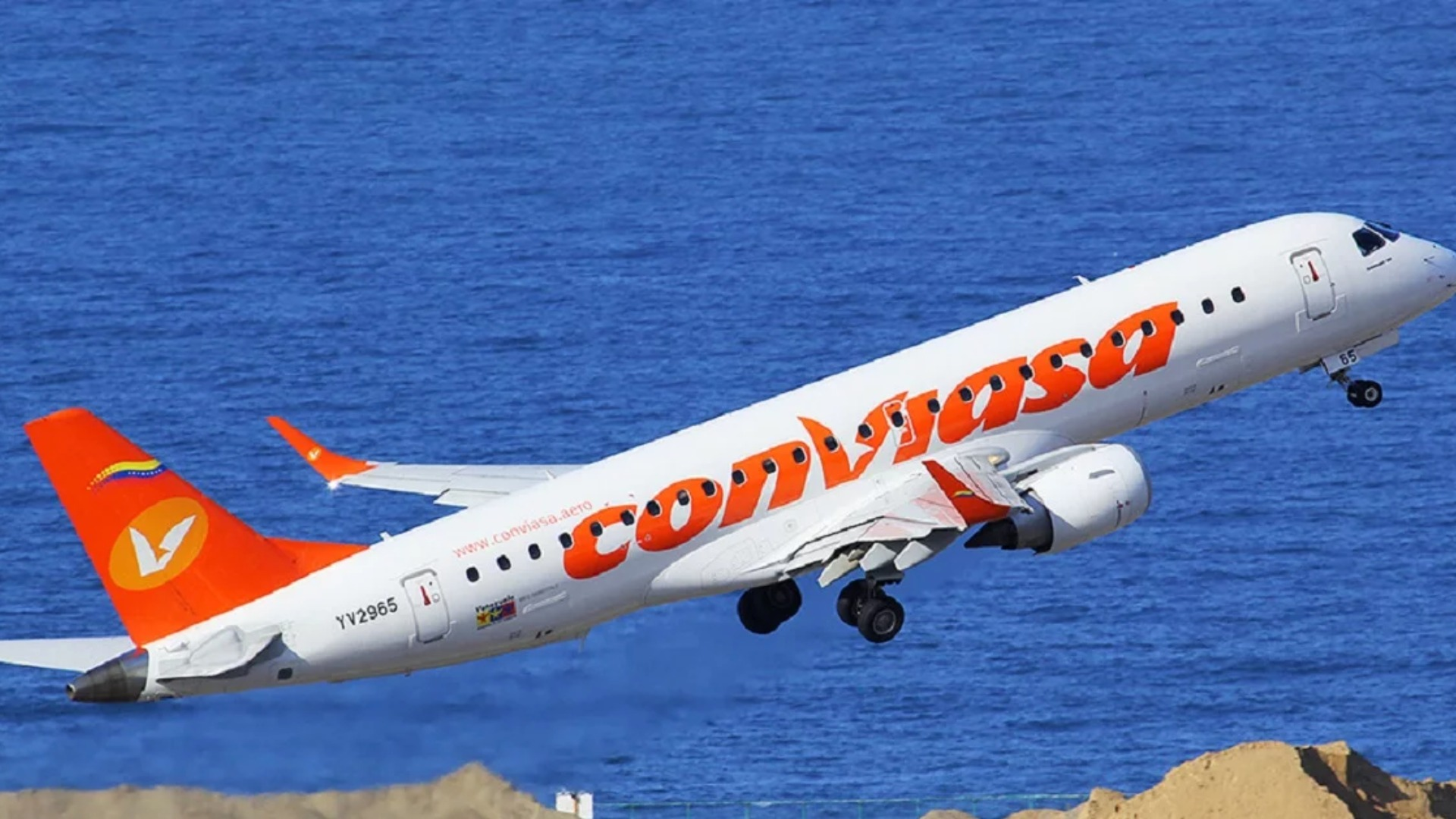 Conviasa reactiva vuelos nacionales y presenta su itinerario