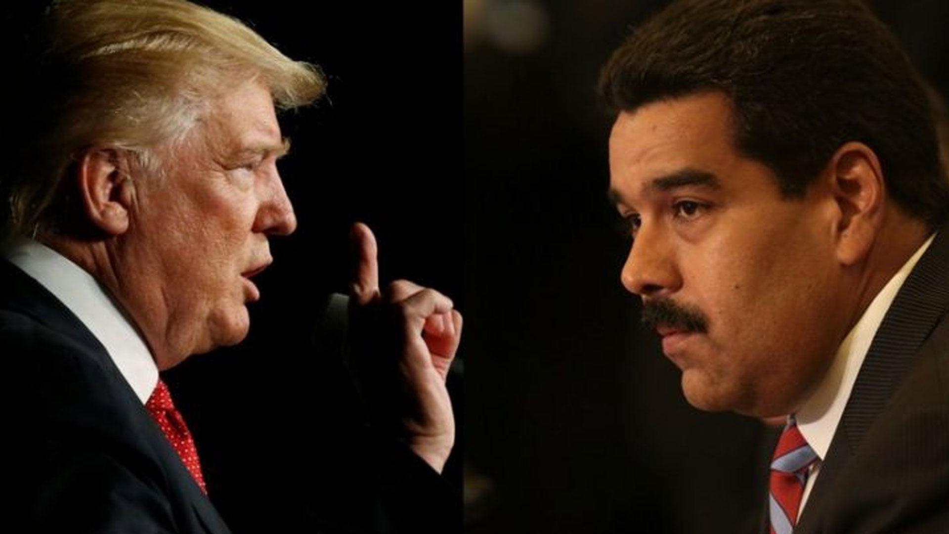 Maduro desea a Trump
