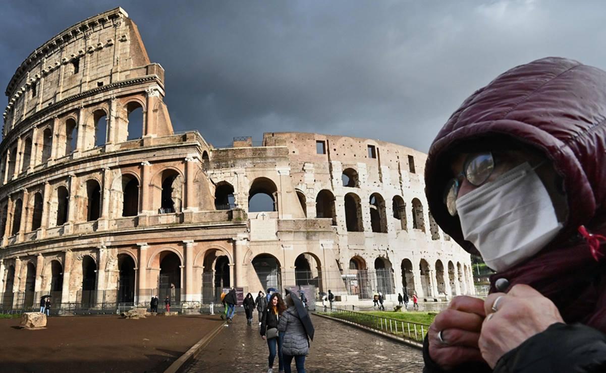 Italia registra 133 nuevos muertos por coronavirus en un día
