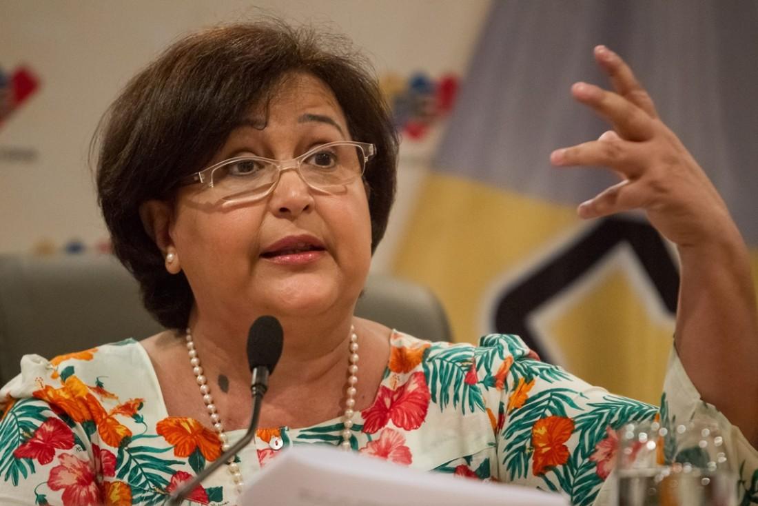 Tibisay Lucena pedirá una investigación profunda sobre incendio en galpones del CNE