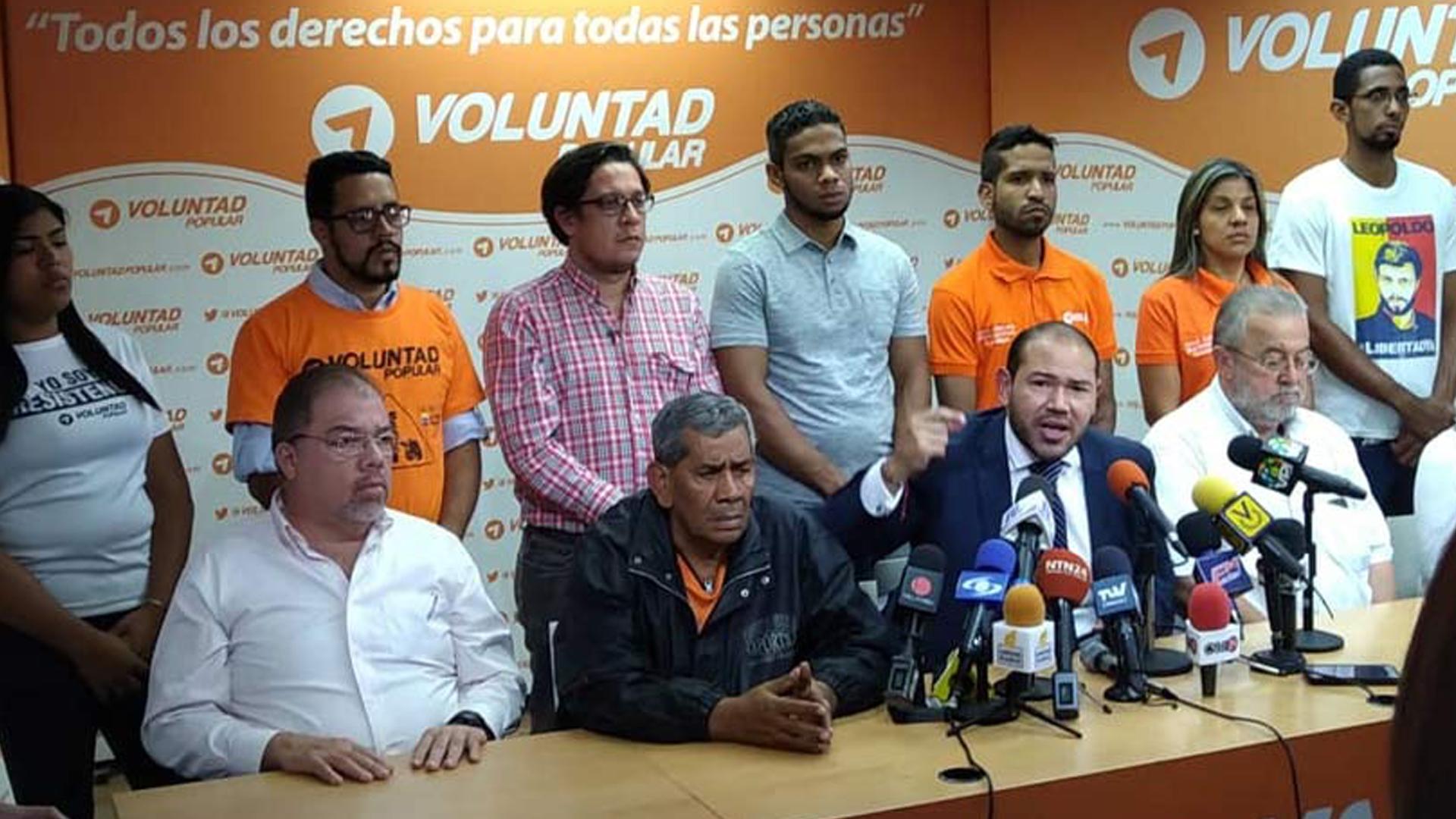 Voluntad Popular denunciará ante organismos internacionales ataque en Lara