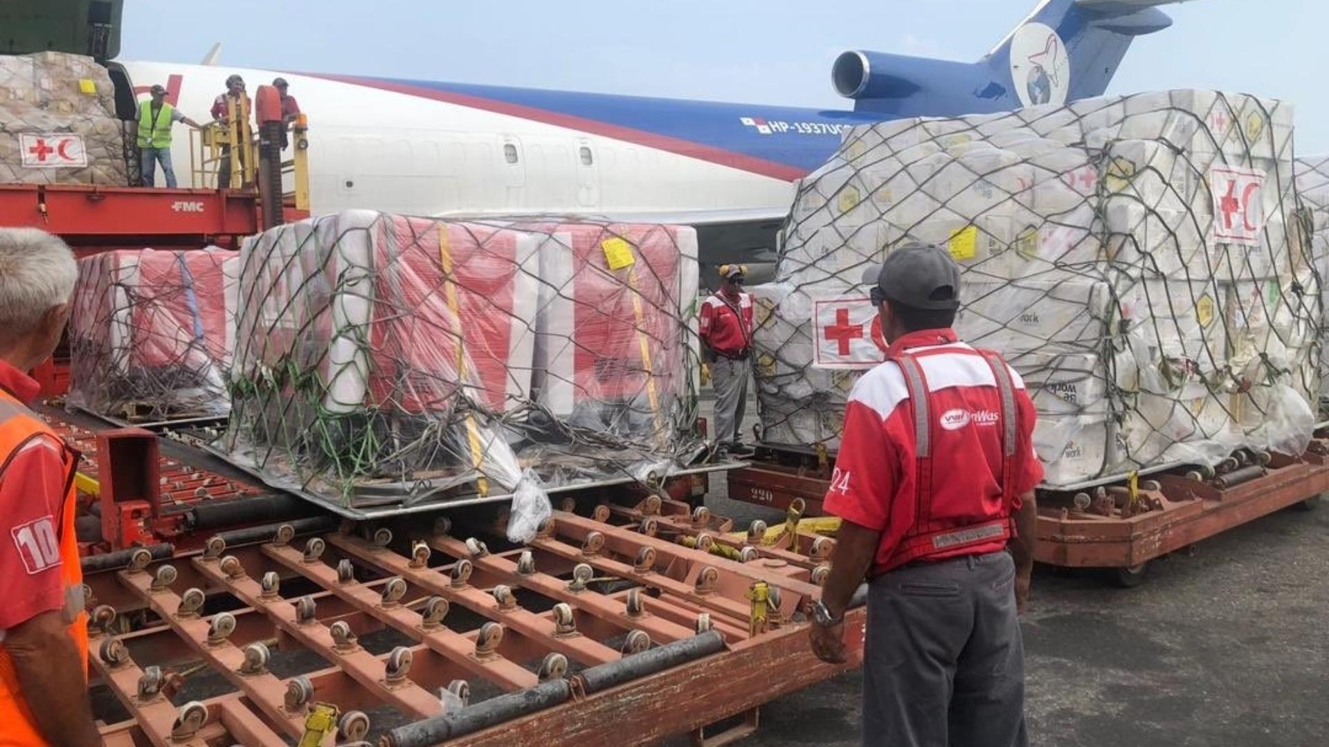 Llega a Venezuela un avión con 12 toneladas de ayuda humanitaria de la ONU