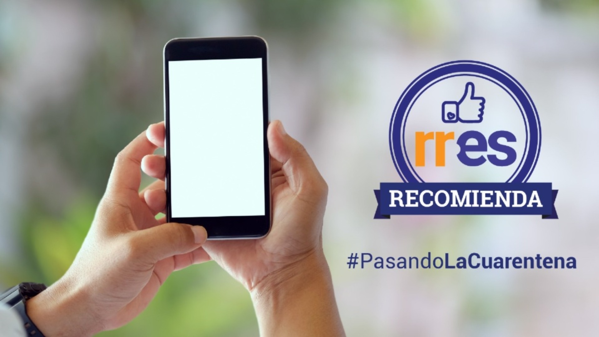 #PasandoLaCuarentena | El teléfono es mucho más que redes sociales #23Mar