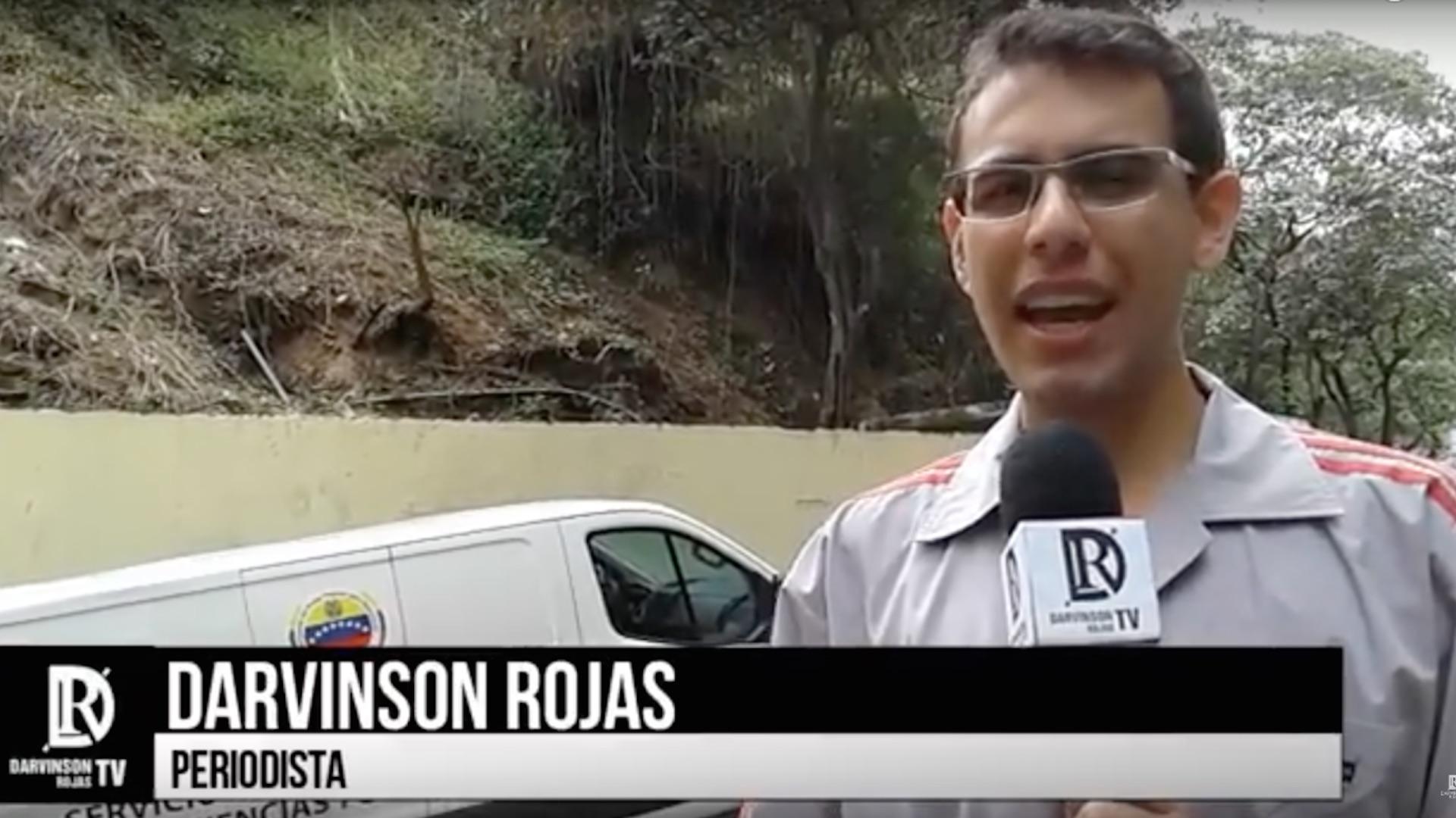 Liberaron al periodista Darvinson Rojas tras 12 días de detención