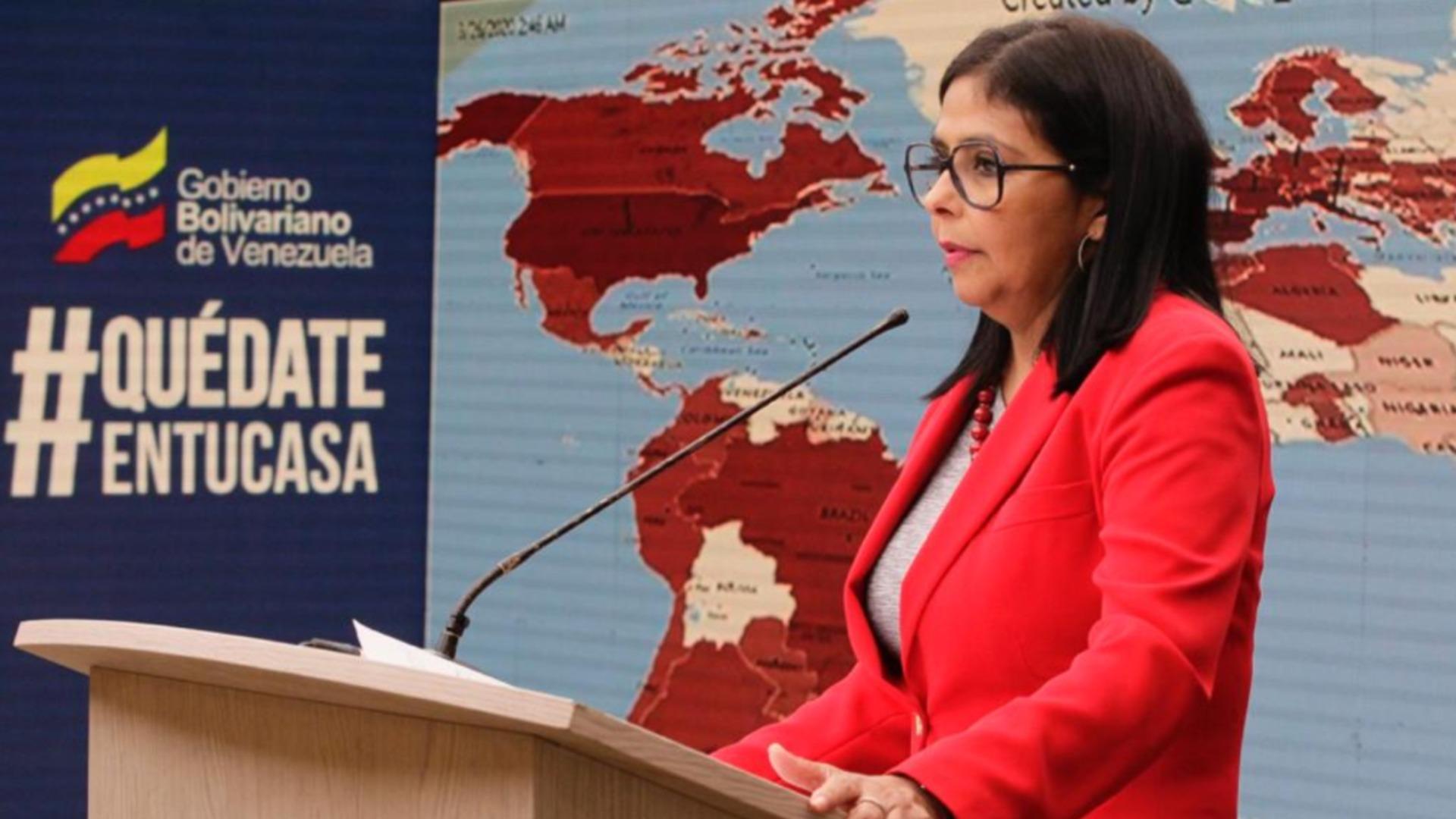 Delcy Rodríguez reporta 361 casos totales de COVID-19 en Venezuela este #4May