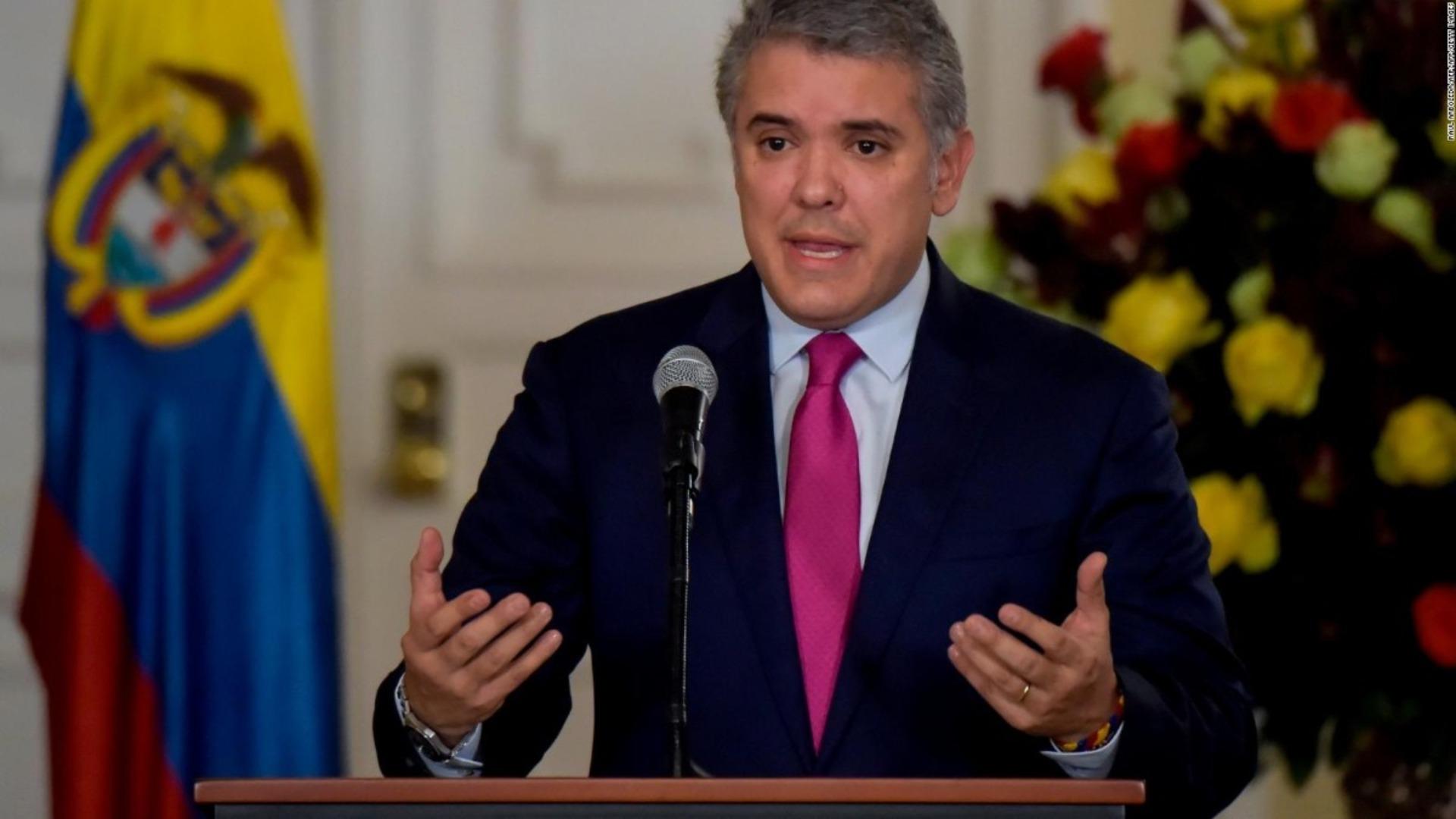 Duque sobre venezolanos detenidos en Colombia: Fueron financiados por Maduro