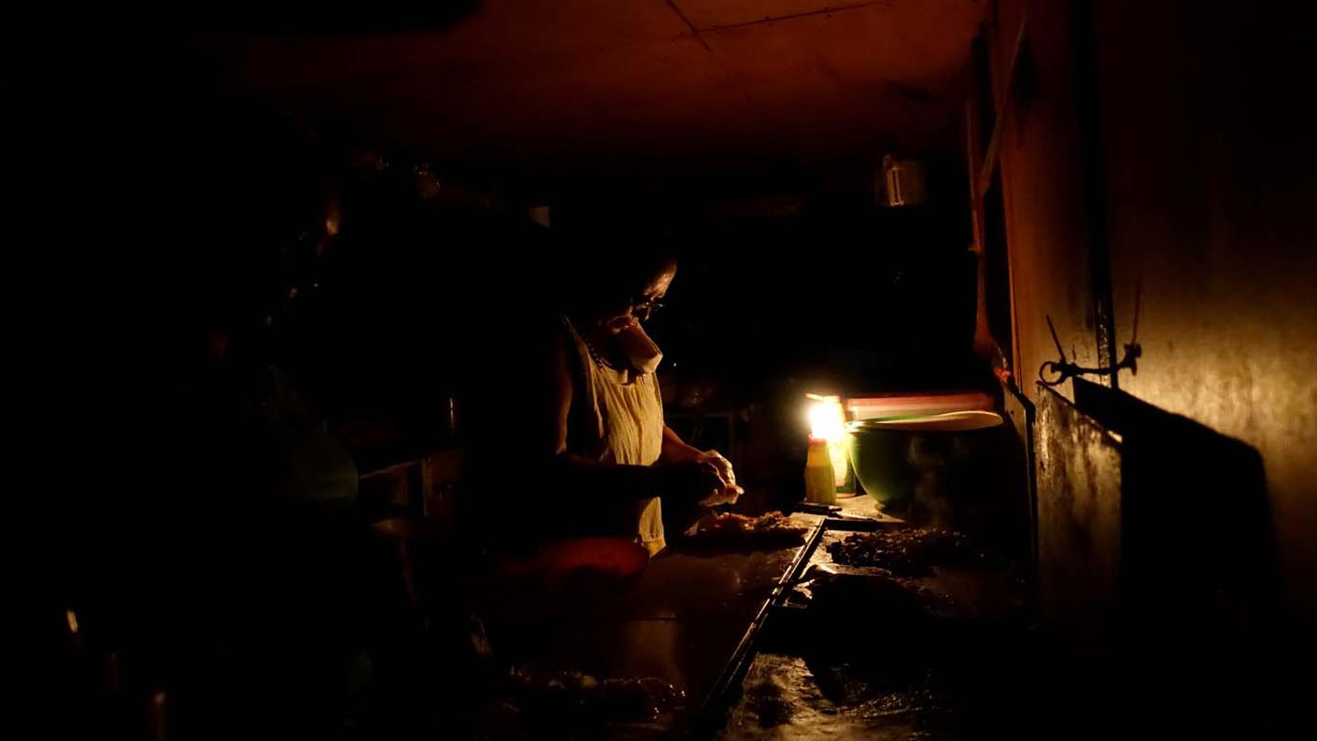 En el occidente de Venezuela el servicio eléctrico brilla por su ausencia