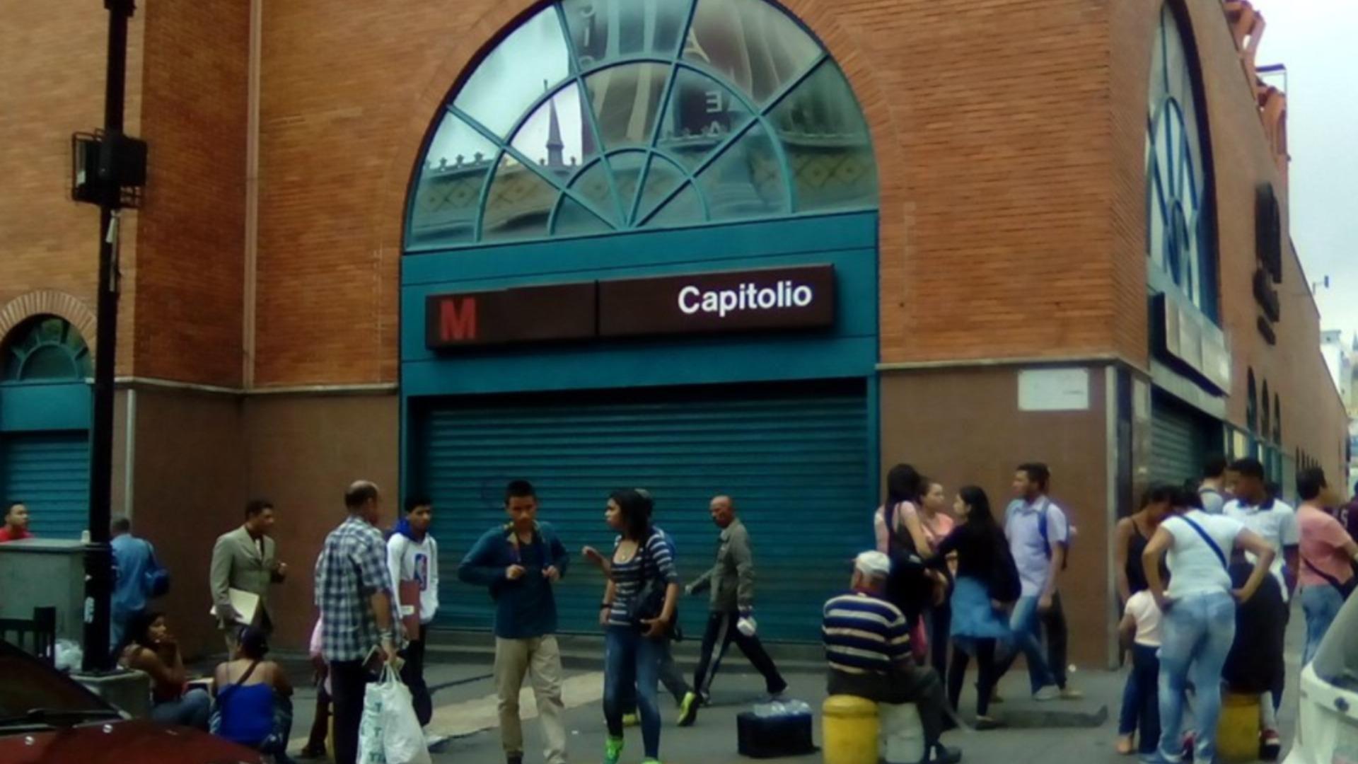 Nueve estaciones del Metro de Caracas fueron cerradas