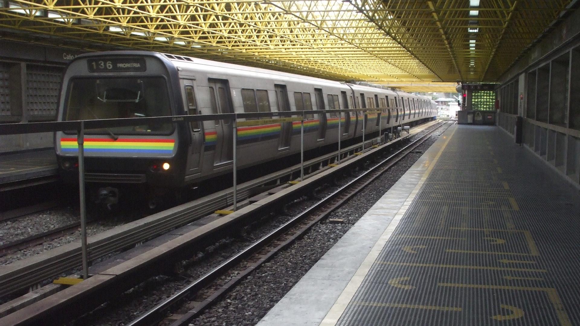 Metro de Caracas cierra 12 estaciones por prevención ante el COVID-19