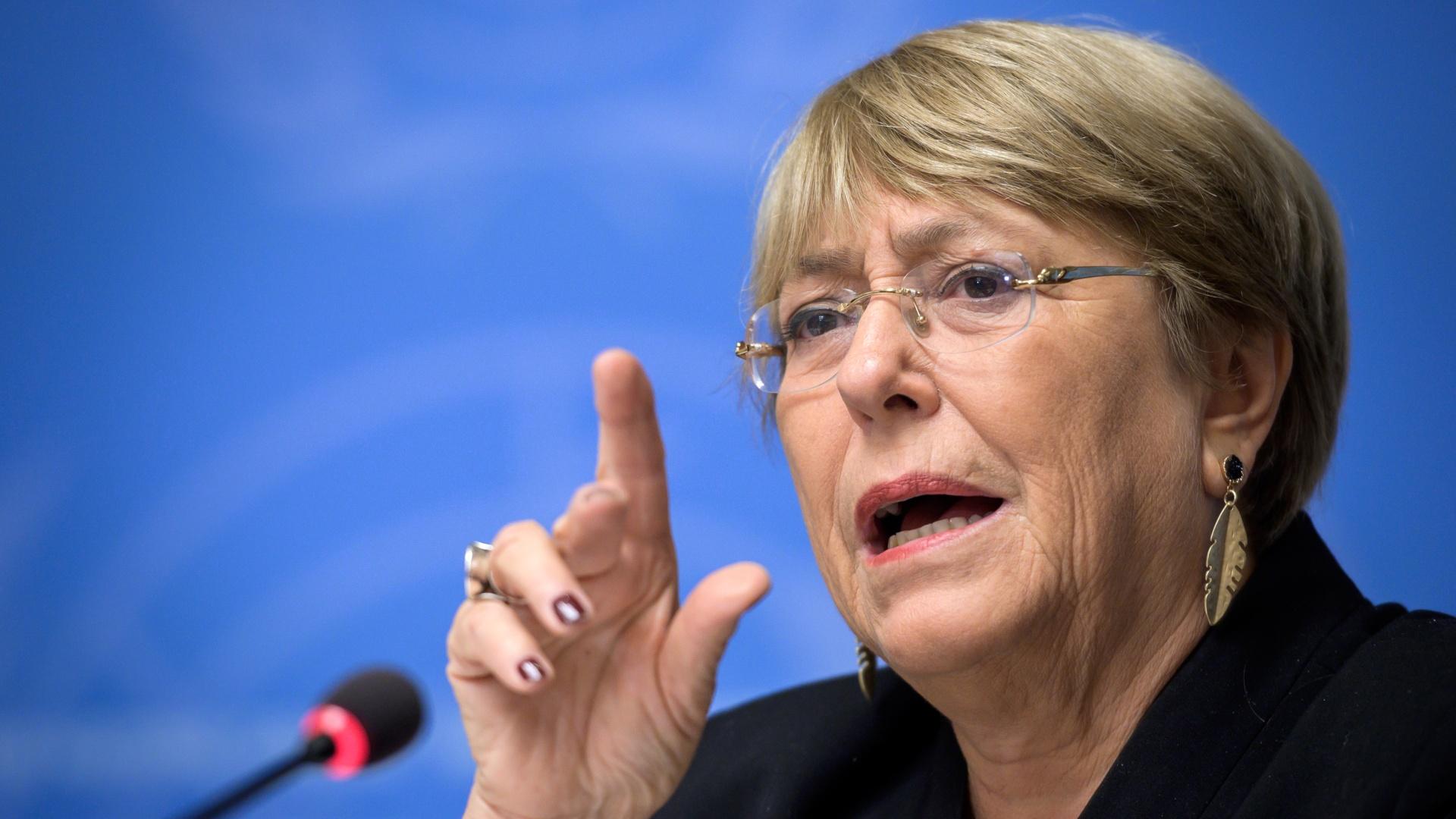 Bachelet revela que recibe denuncias de tratos crueles a presos en Venezuela