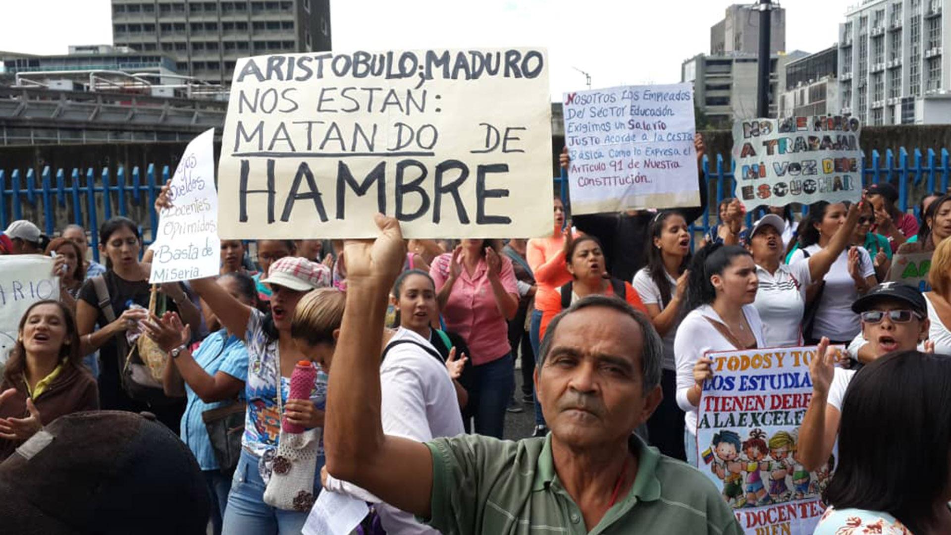 OVCS registró 779 protestas en el país durante febrero