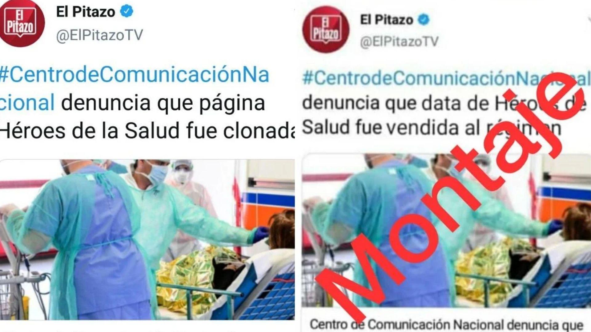 Denuncian uso de falso tuit de El Pitazo para desinformar