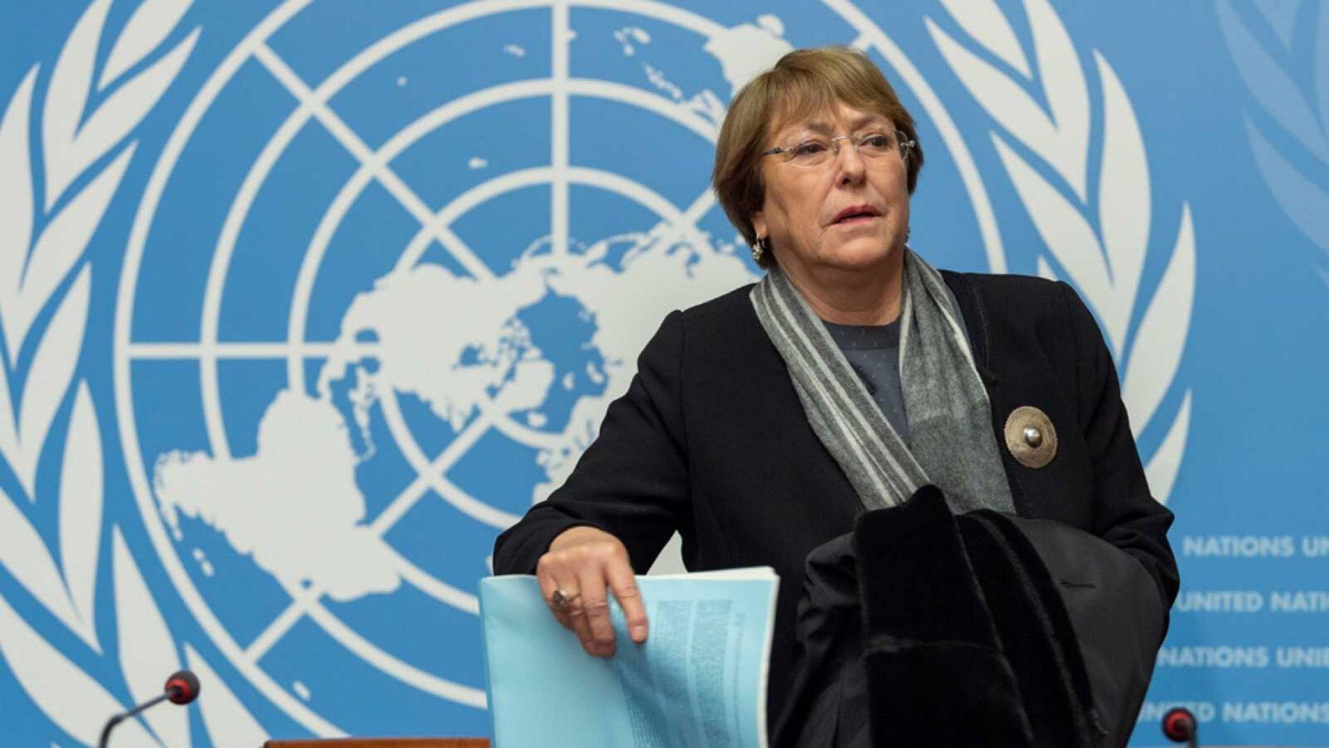 Bachelet denuncia violaciones a la libertad de expresión y detención de políticos en Venezuela