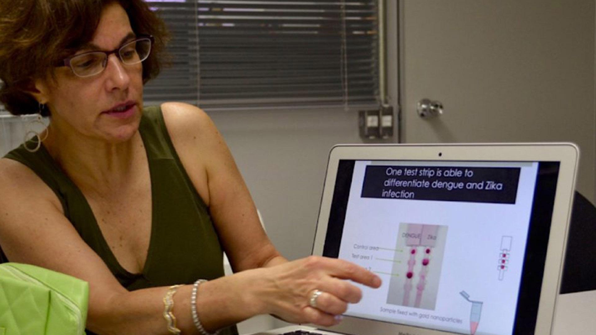 Irene Bosch descubre en Venezuela el germen del test rápido para coronavirus