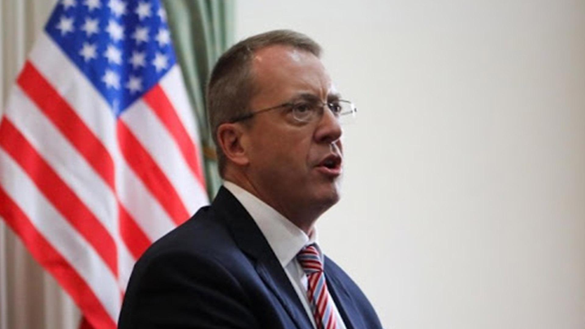 Encargado de Negocios de EEUU pide a Jorge Arreaza