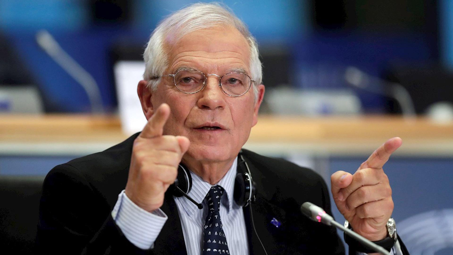 Josep Borrell sobre parlamentarias: No están dadas las condiciones para un proceso transparente, inclusivo y justo
