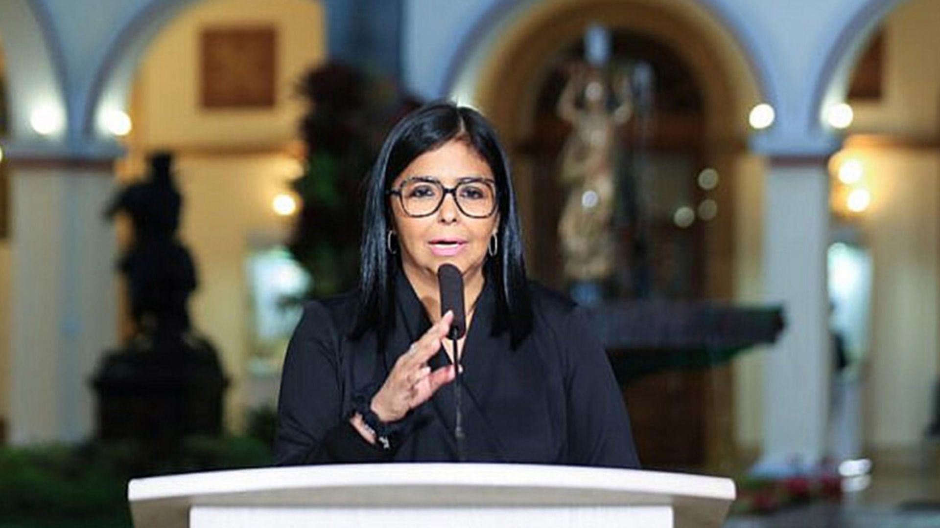 Delcy Rodríguez anuncia la extensión de la cuarentena nacional por 30 días