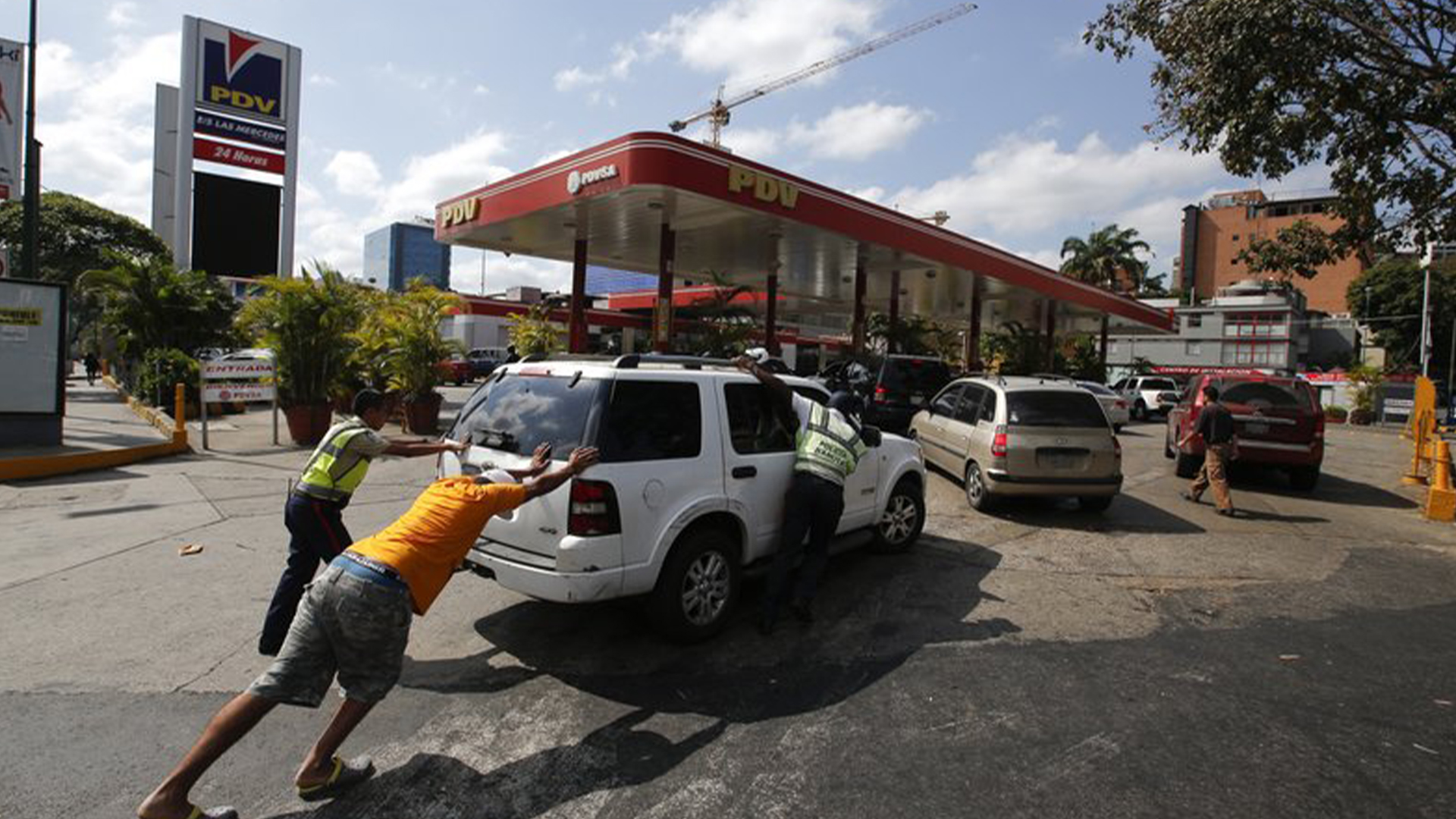 Protestas en Caracas por fallas en servicios públicos
