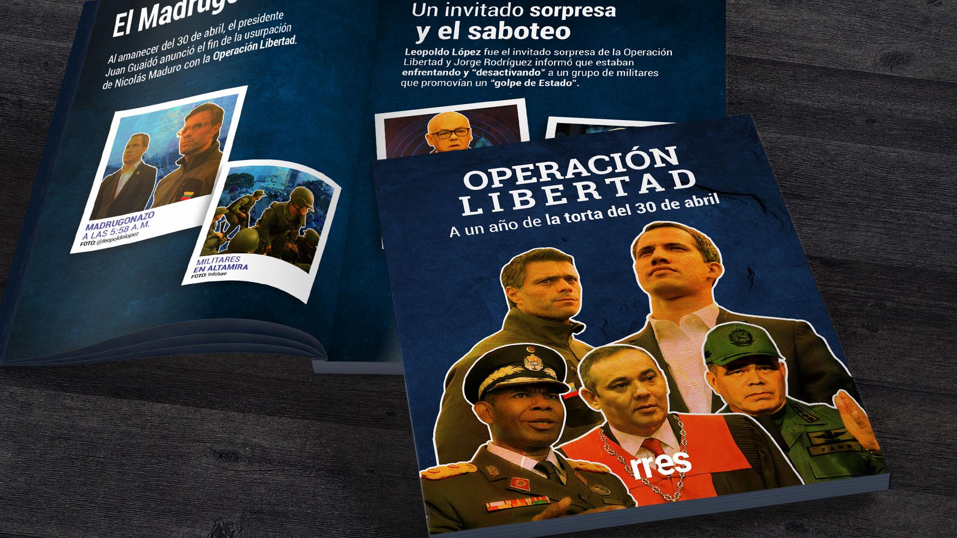 Operación Libertad: A un año de la torta del 30 de abril