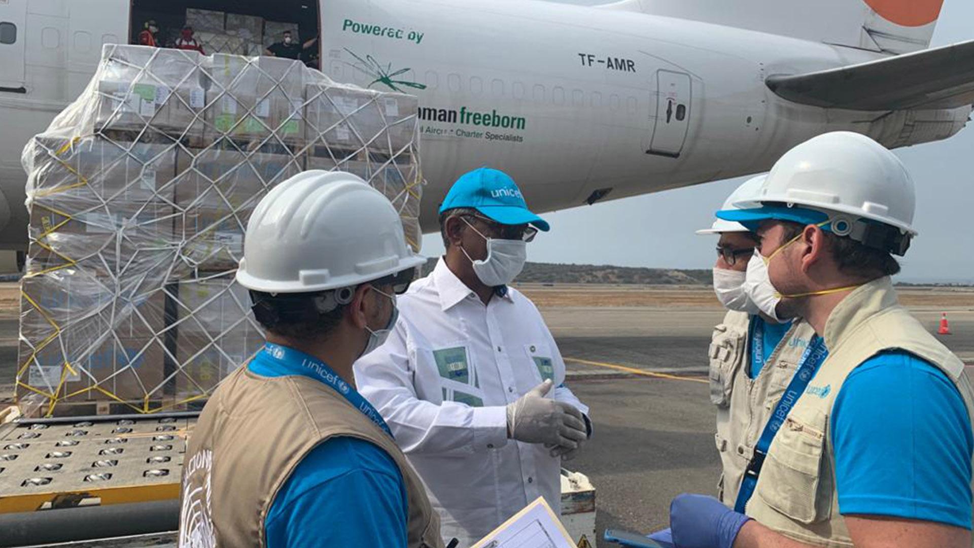 Venezuela recibió ayuda humanitaria de la Unión Europea