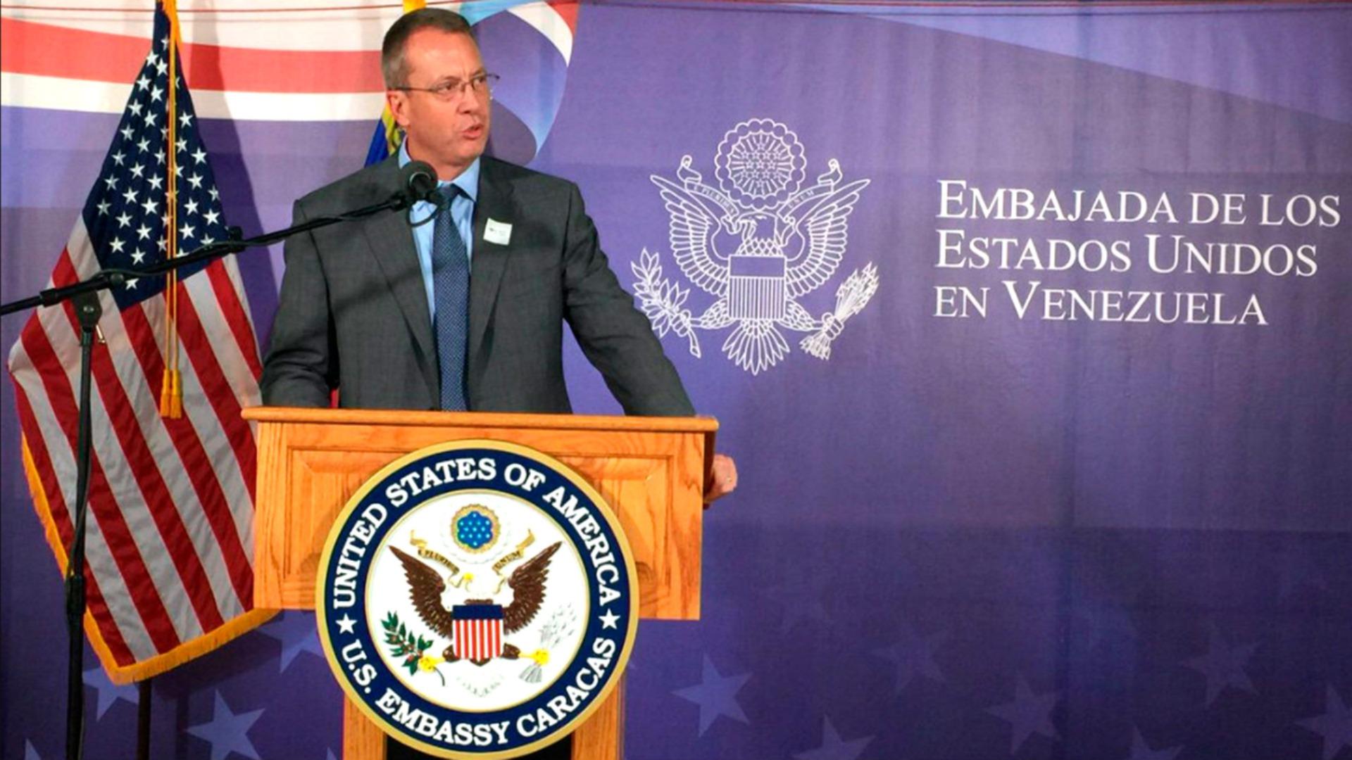 Las perlas que soltó James Story en su primera entrevista como embajador de los EE.UU. para Venezuela