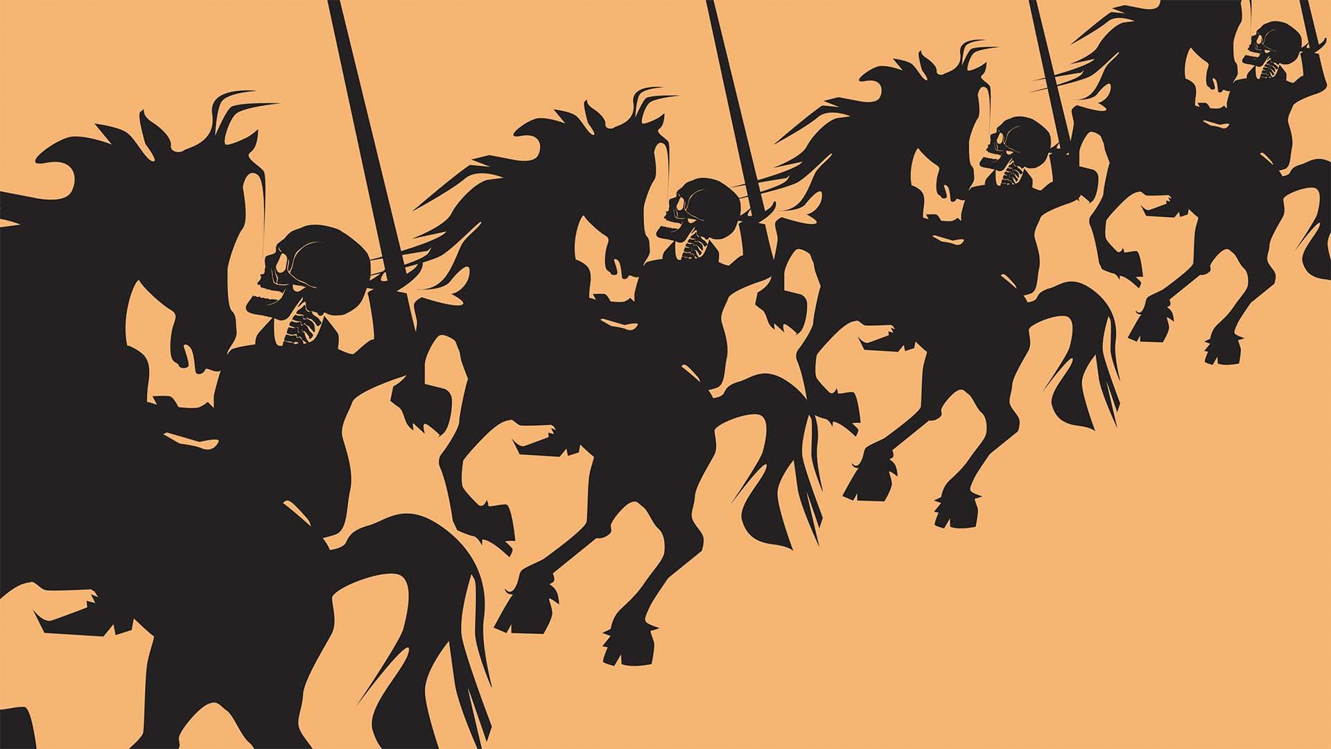 Los cuatro jinetes del Apocalipsis, por Orlando Viera-Blanco