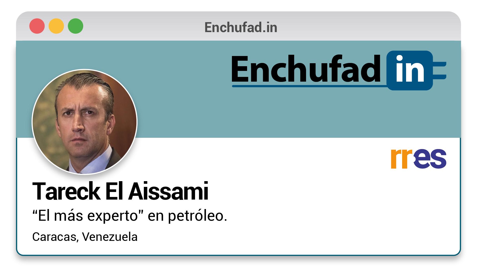 #EnchufaDÍN | Felicita a Tareck El Aissami por su nuevo cargo