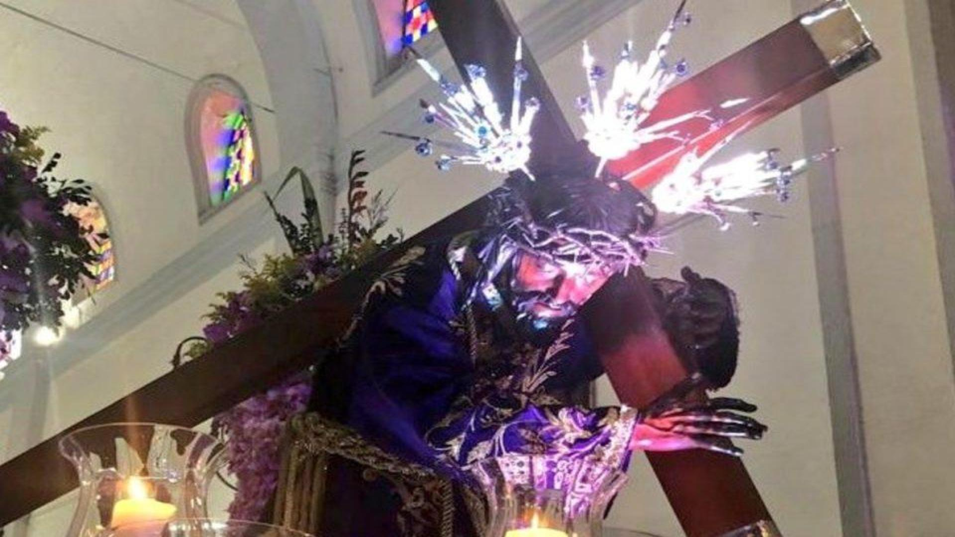 Gobierno impide recorrido del Nazareno de San Pablo programado para este #8Mar