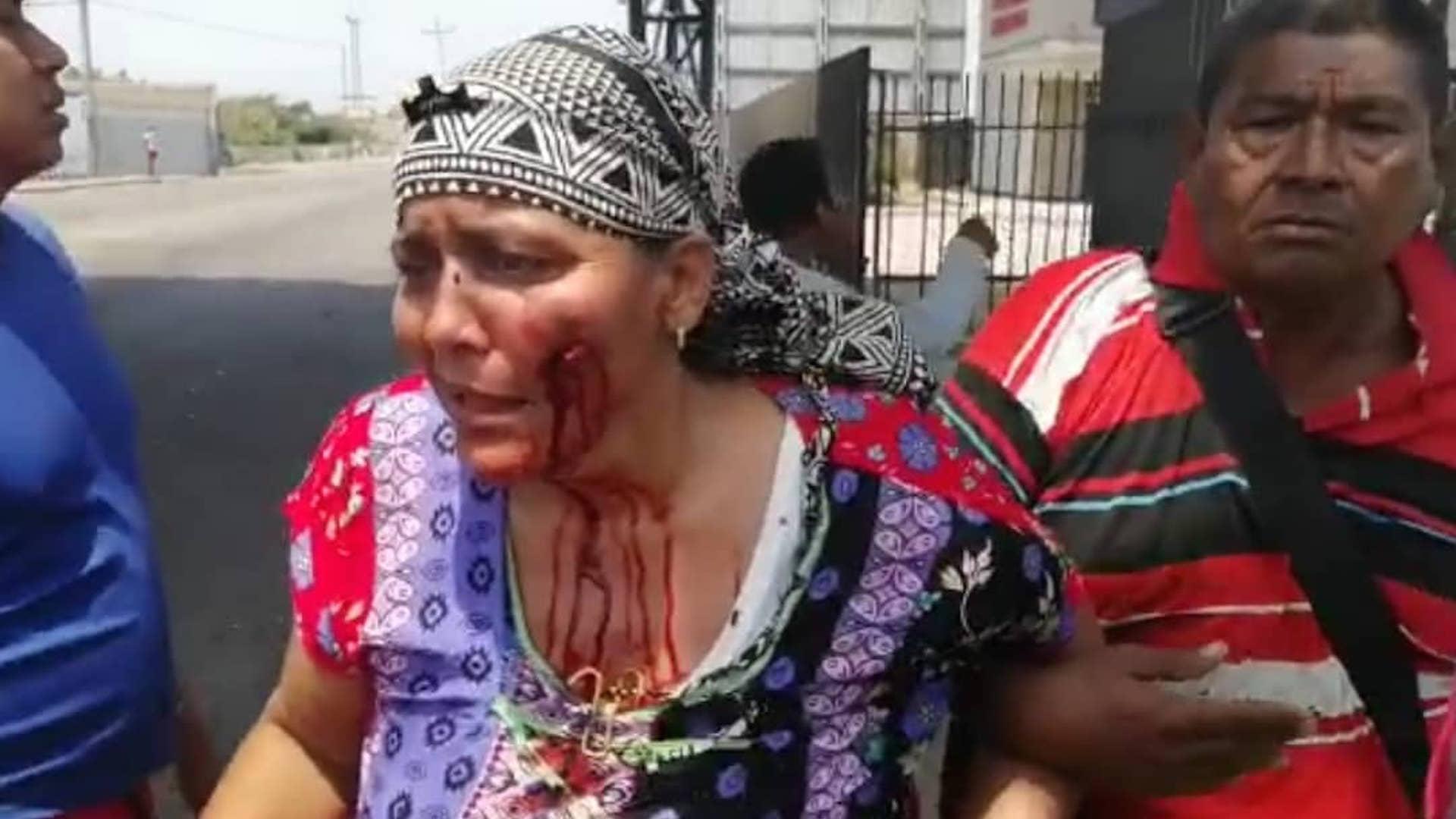 GNB arremetió con gases y perdigones contra comunidades wayuu que protestaban en La Guajira