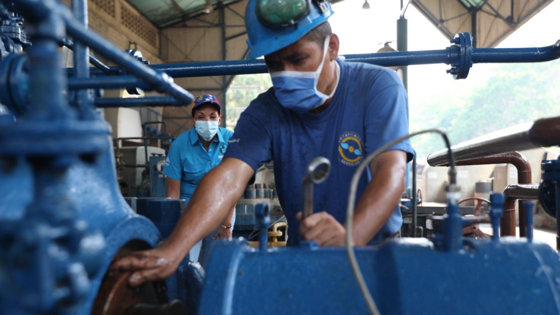 Reactivan estación Taguacita para el restablecimiento del Tuy II