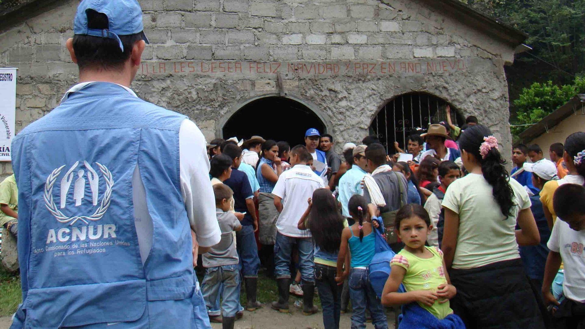 Acnur solicita aumentar ayuda para refugiados venezolanos