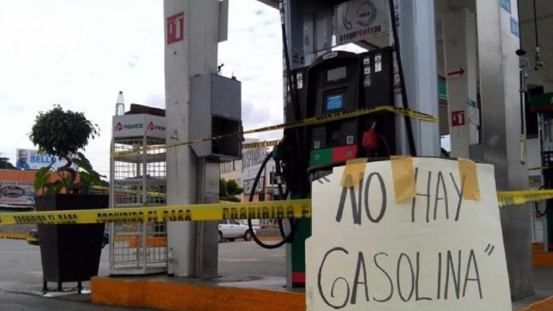 Escasez de gasolina lideró conflictos laborales en abril