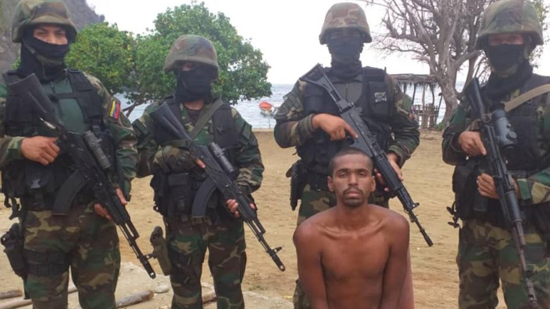Capturan a otro hombre en Vargas vinculado a la Operación Gedeón