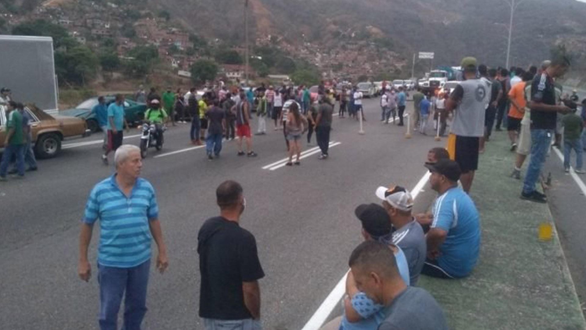 AN registra 287 protestas entre el 21 y 27 de septiembre