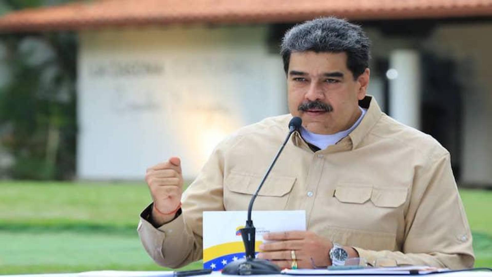 Maduro admitió pico de contagios por coronavirus en Venezuela